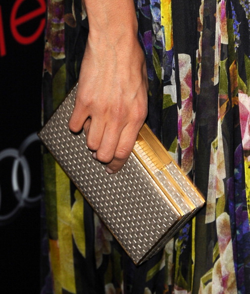 Nina Dobrev Pre-SAG Party - Elie Saab Clutch