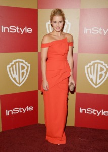 Claire Holt 2013 Golden Globes InStyle After Party