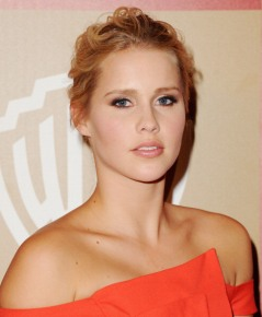 Claire Holt InStyle Golden Globes 2013