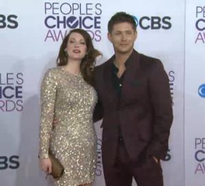 Jensen Ackles and Daneel Harris Ackles