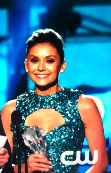 Nina Dobrev 2013 Critics Choice Movie Awards