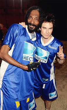 Snoop Dog & Ian Somerhalder