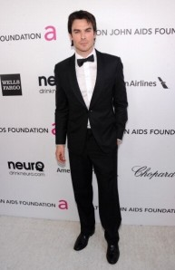 Ian Somerhalder 2013 Elton John Party