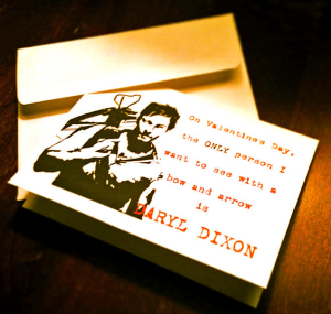 DARYL Valentines Day Card
