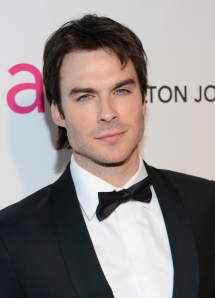 Ian Somerhalder 2013 Elton John Oscar Party
