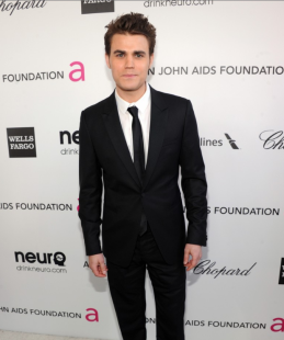 Paul Wesley 2013 Elton John Oscar Party