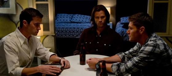 Whiskey, awkward conversation...a Winchester Reunion.
