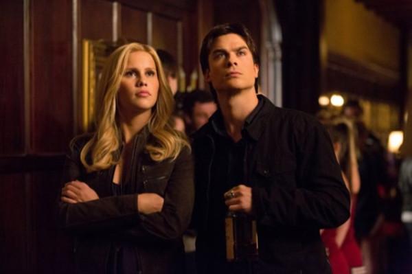 Damon & Rebekah 4x16 Bring It On