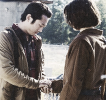 Glenn and Maggie TWD 3x15