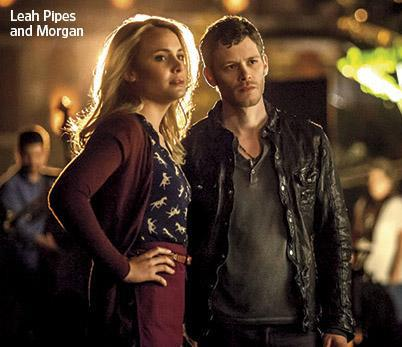 Joseph Morgan & Leah Pipes The Originals
