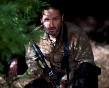 Rick Walking Dead 3x16