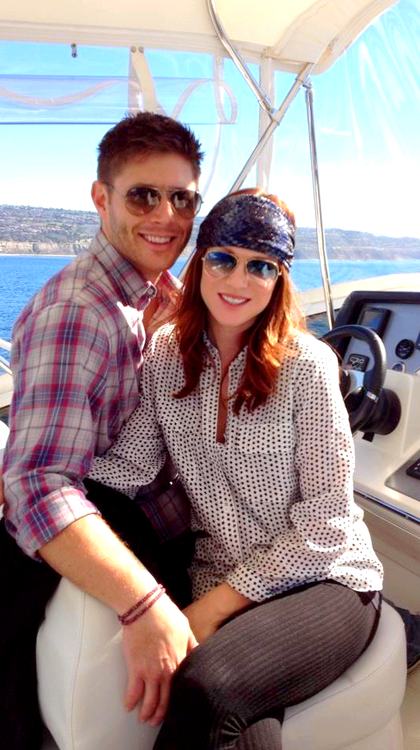 Daneel and Jensen Ackles